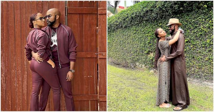 """I love you scatter"" - Banky W celebrates his wife, Adesua Etomi on mothers' day"