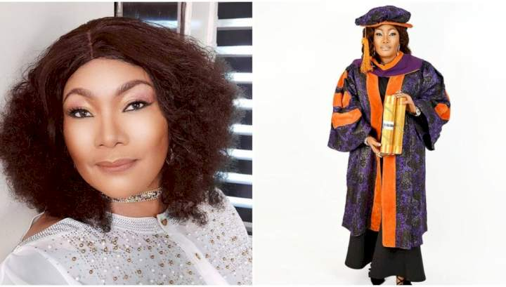 """""""My rich father refused to train me after high school because the female gender is useless to him"""" - Actress, Eucharia Anunobi"""