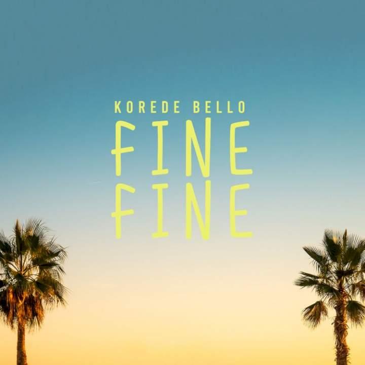 Music: Korede Bello - Fine Fine