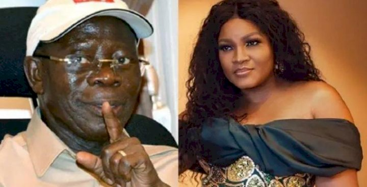 Actress Omotola Jalade Finally Reacts To Alleged Secret Affair With Oshiomhole