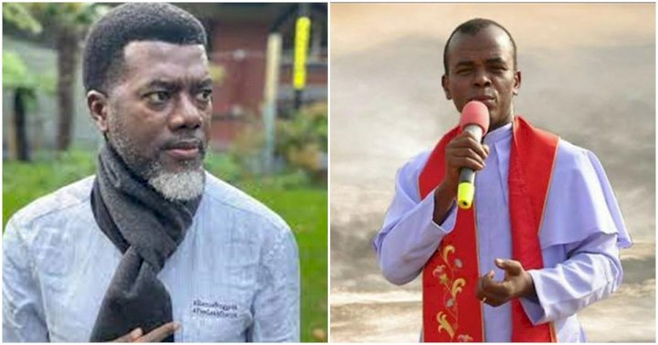 """Author of confusion"" - Reno Omokri slams Father Mbaka as he urges Catholic church to defrock him"