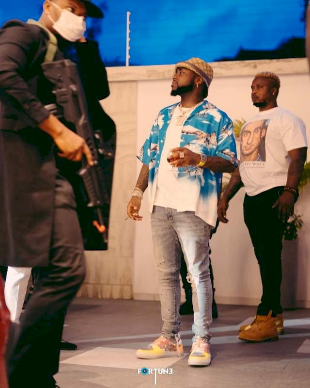 """He was high then"" - Davido dragged over song feature with Wizkid that is yet to drop"