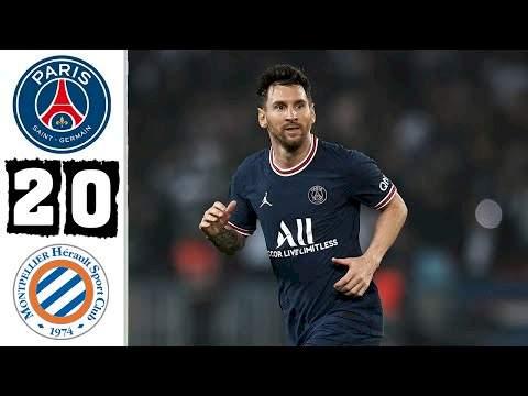 Paris SG 2 - 0 Montpellier (Sep-25-2021) Ligue 1 Highlights