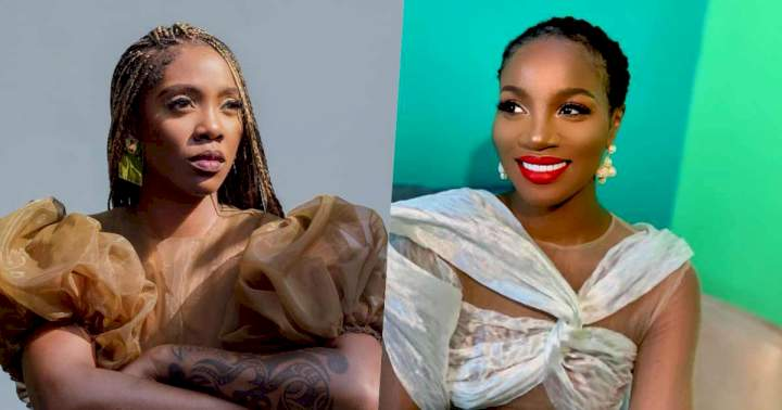 """""""Don't hi me with your disgusting spirit"""" - Tiwa Savage & Seyi Shay blast one another (Video)"""