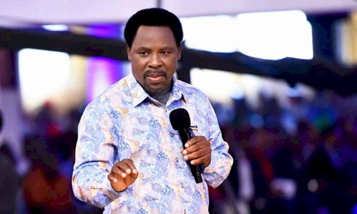 Dare: T.B Joshua reacts to death of Pastor Adeboye's son