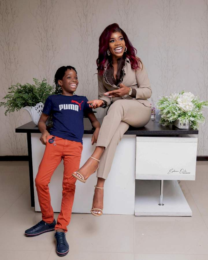 """I've done my best as a parent, the rest of the story is for my son to share"" - Wizkid's first baby mama says as she shares a complicated message"