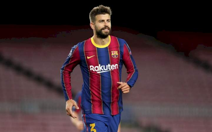 Champions League: Gerard Pique reacts to Barcelona's defeat to Bayern Munich