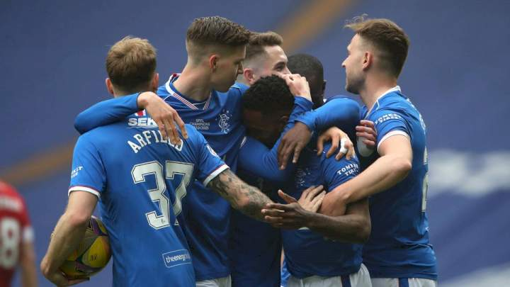 Rangers finish 2020/2021 season unbeaten