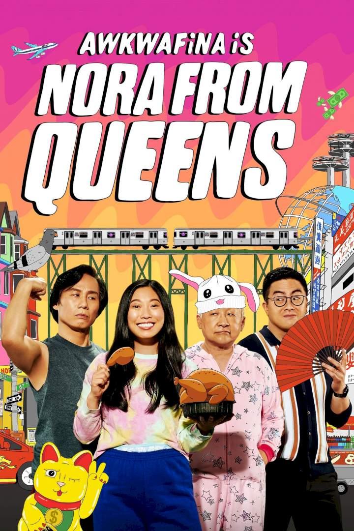 Awkwafina Is Nora from Queens Season 2