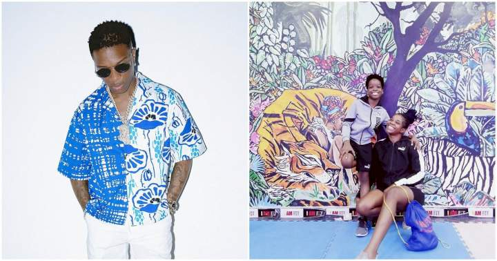 """""""I didn't know I was pregnant with Wizkid's son till after 5 months"""" - Wizkid's first baby mama, Shola reveals"""