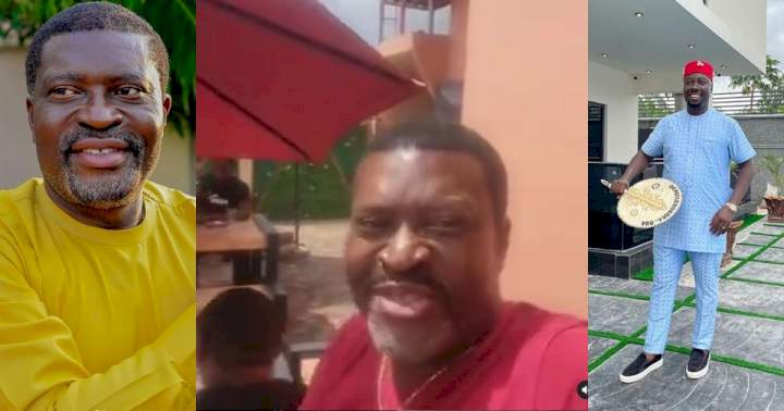 """Obi Cubana: """"If your girlfriend told you she is going for a weekend, she will definitely be at Oba"""" - Actor Kanayo (Video)"""