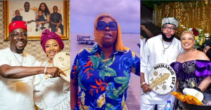"""""""You saw how they were spraying money, but didn't you see how they are treating their wives?"""" - Politician, Mama T queries men idolizing Obi Cubana and E-money (Video)"""