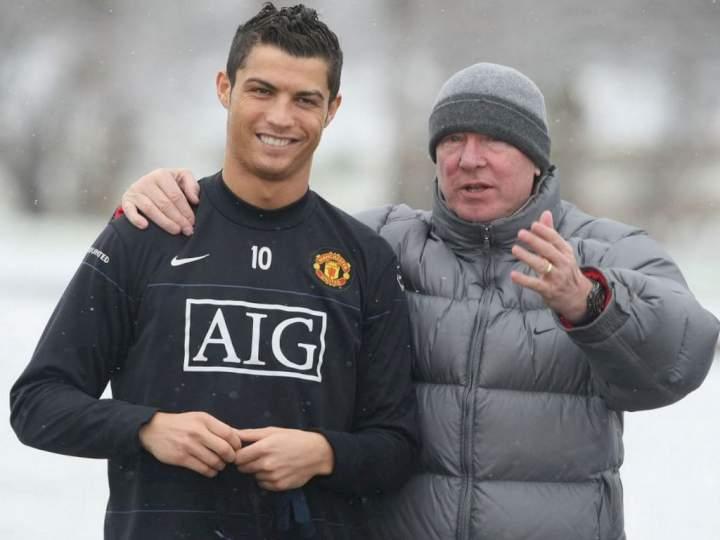 EPL: Ferguson reveals how he blocked Ronaldo's move to Man City