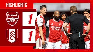 Arsenal 1 - 1 Fulham (Apr-18-2021) Premier League Highlights