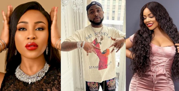 Check out Davido's reaction after Nengi beat Erica to win Gage's online influencer of the year (Video)