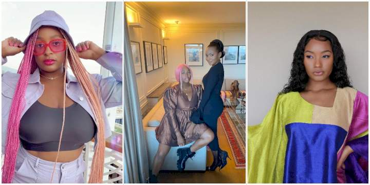 """Family First"" - DJ Cuppy says as she finally reunites with sister, Temi Otedola"
