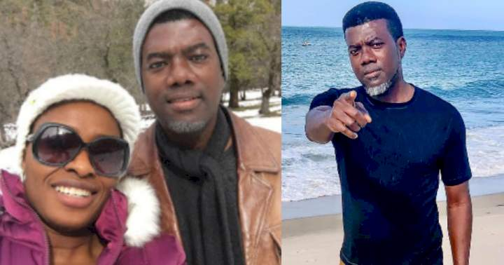 Reno Omokri allegedly abandons wife, welcomes child with lover