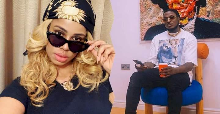 """I had a dream that Peruzzi died"" - Singer's alleged sexual assault victim Daffy Blanco reveals"