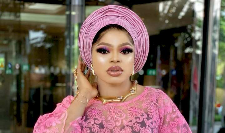 """""""A lot of this yeye celebrities dragging Tope Alabi are thrash"""" - Bobrisky rants from his sickbed"""