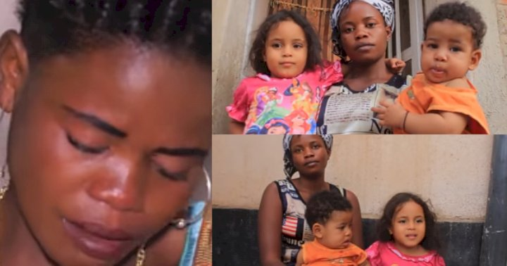 Lady recounts how her two white lovers abandoned her after getting her pregnant (Video)