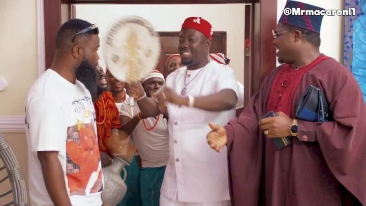 Obi Cubana visits Daddy Wa, Don Jazzy & Poco Lee
