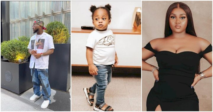 Davido declares Chioma's son, Ifeanyi as his 'heir apparent'