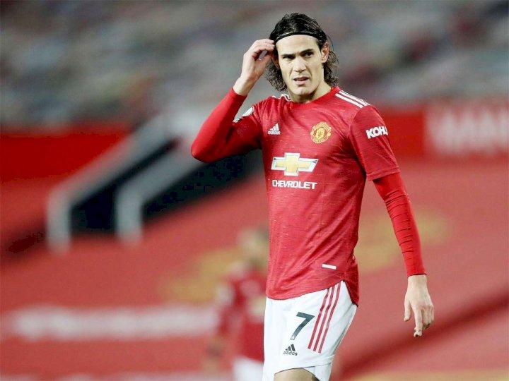 EPL: Edinson Cavani takes final decision on Man United future