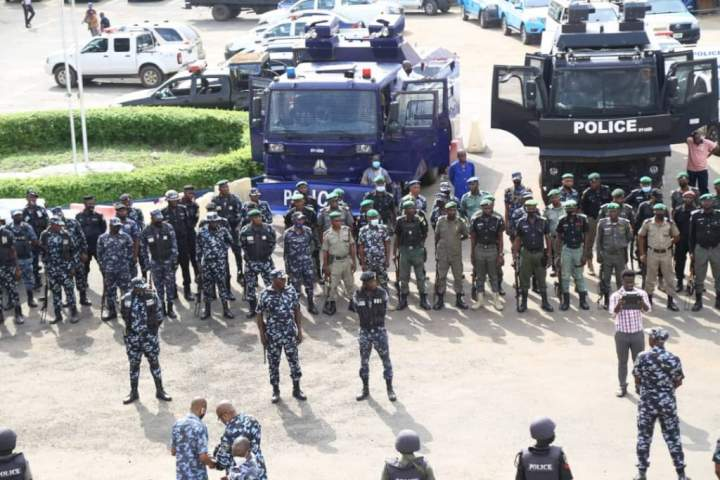 BREAKING: Police ban End SARS protest in Lagos