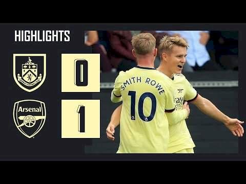 Burnley 0 - 1 Arsenal (Sep-18-2021) Premier League Highlights