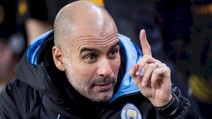 EPL: Guardiola identifies player to play Kane, Ronaldo's role at Man City after failed bids