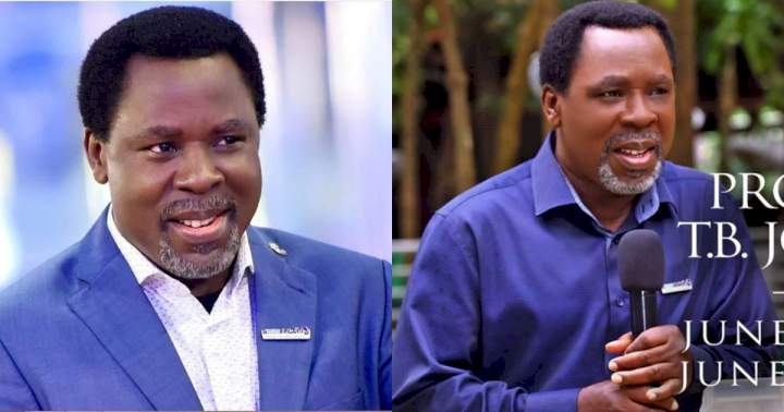 TB Joshua's church announces his burial arrangement, says he will be buried in Synagogue premises