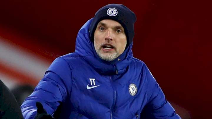 UCL: You're not good enough - Thomas Tuchel to Chelsea stars after 1-0 loss to Juve