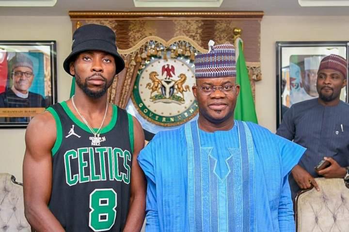 Omoyele Sowore attacks footballer, Kelechi Iheanacho, for paying courtesy visit to Kogi state governor, Yahaya Bello