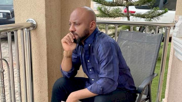 """""""Nobody owes you anything other than what you worked for"""" - Yul Edochie to entitled people"""