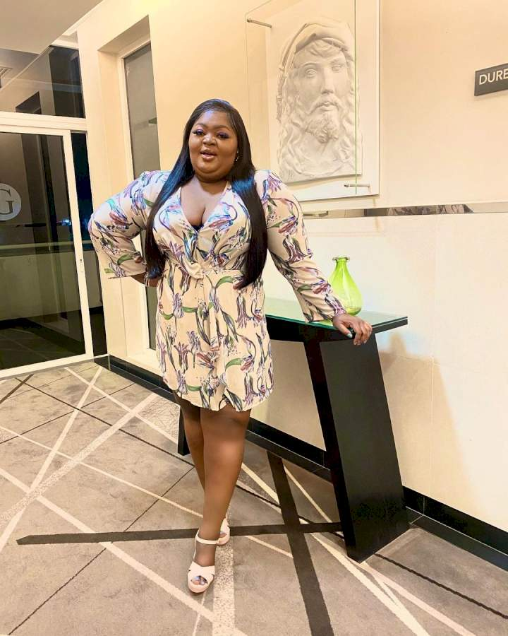 """""""I'm not in competition with anybody"""" - Actress, Eniola Badmus replies follower who asked if she's depressed"""
