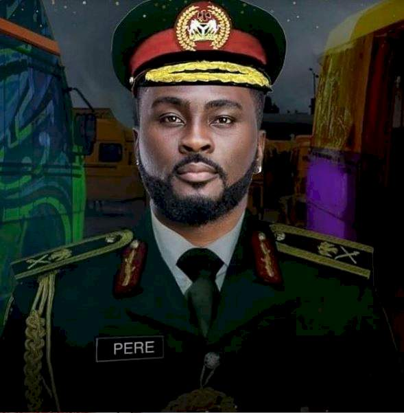 BBNaija's Pere gets hospitalized hours after receiving gift items from fans (Video)