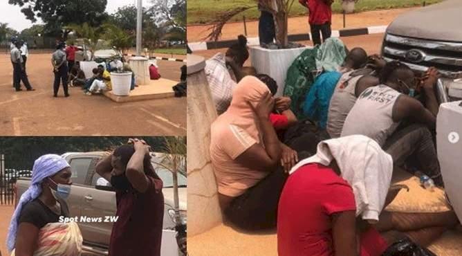 10 men, 6 women arrested as police raid sex party
