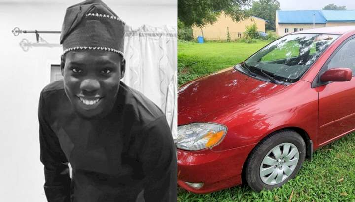 Man in tears as he narrates how his car was stolen in broad daylight in Abuja