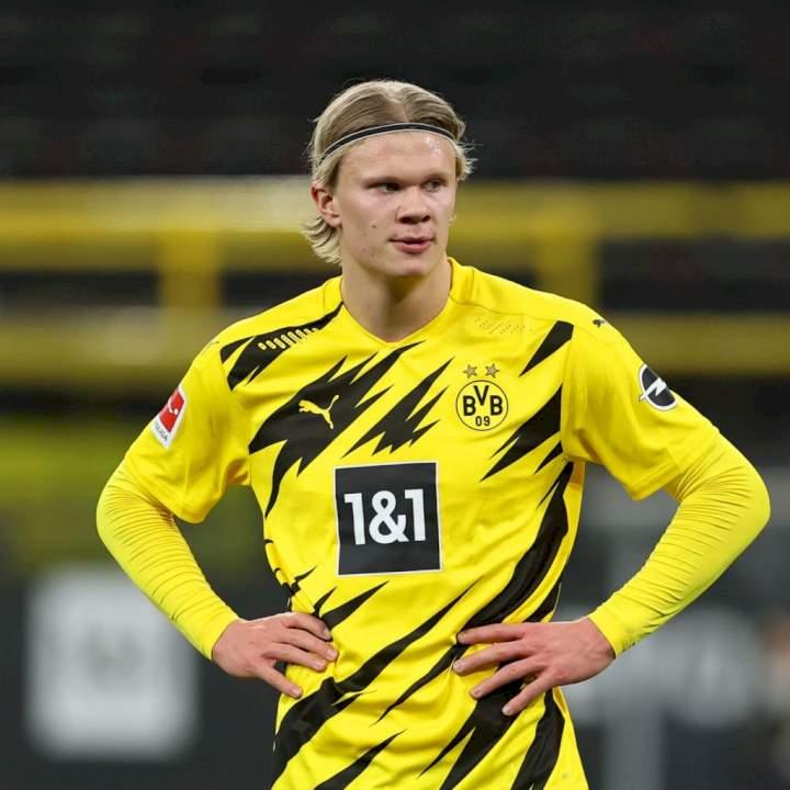 It's sad to see Sancho leave Dortmund for Man United - Haaland