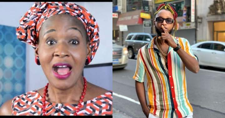 """""""Line of respect I have for you ends here"""" - Rapper Yung6ix bashes Kemi Olunloyo for celebrating Donald Trump on his birthday"""