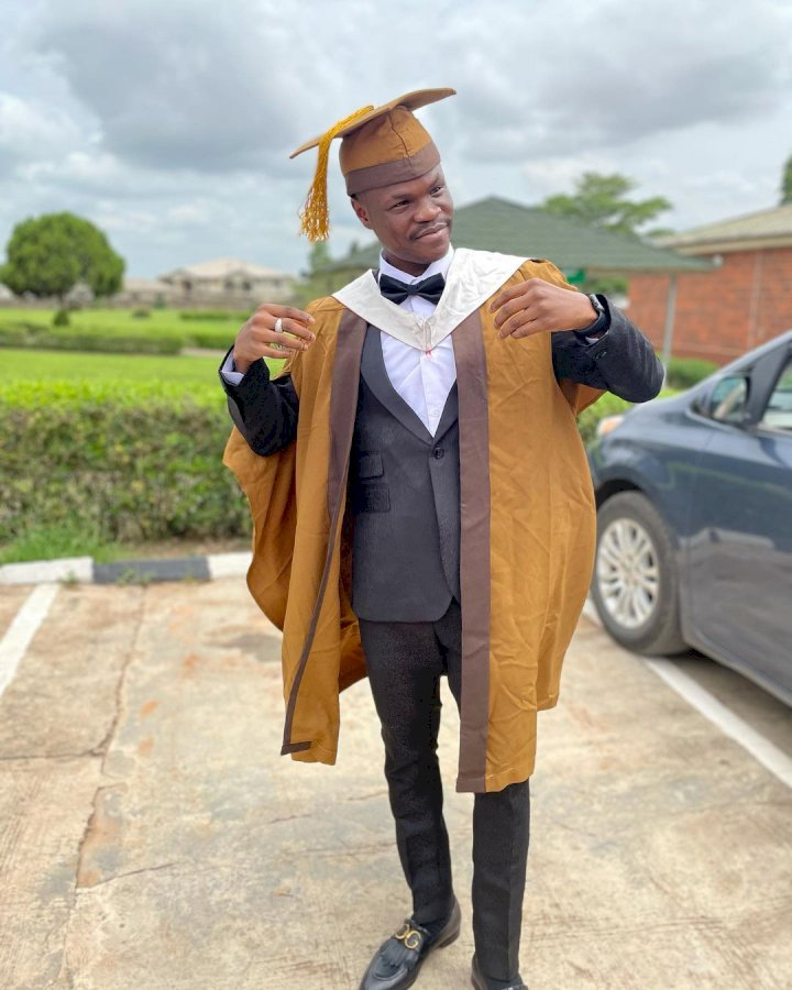 Singer, Bad Boy Timz bags degree in computer engineering from Bells University