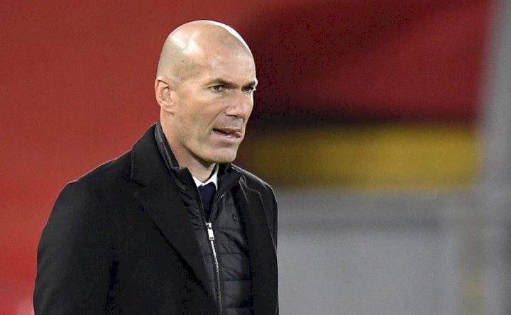 LaLiga: You don't know anything - Zidane attacks journalists over his Real Madrid's future