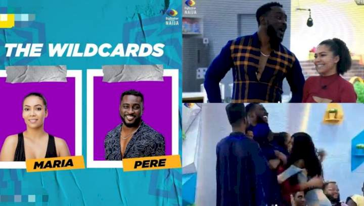 Moment Ebuka revealed the wild cards to the housemates (Video)