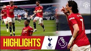 Tottenham 1 - 3 Manchester Utd (Apr-11-2021) Premier League Highlights