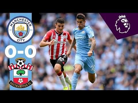 Manchester City 0 - 0 Southampton (Sep-18-2021) Premier League Highlights