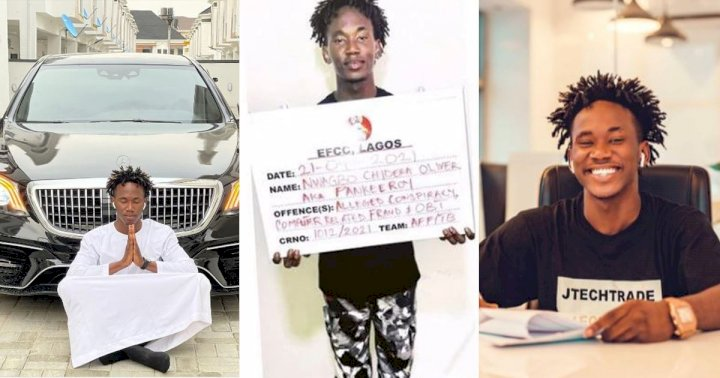EFCC apprehends comedian, Pankeeroy over alleged internet fraud