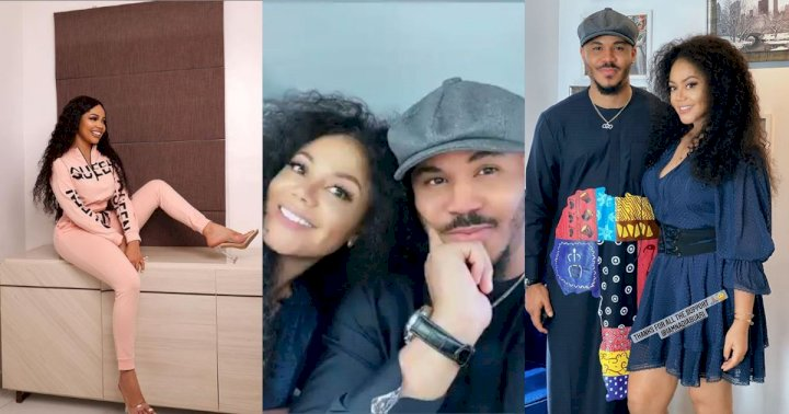 """Please he should forget about Nengi"" - Fans reacts to photos of Ozo and Nadia Buari together"