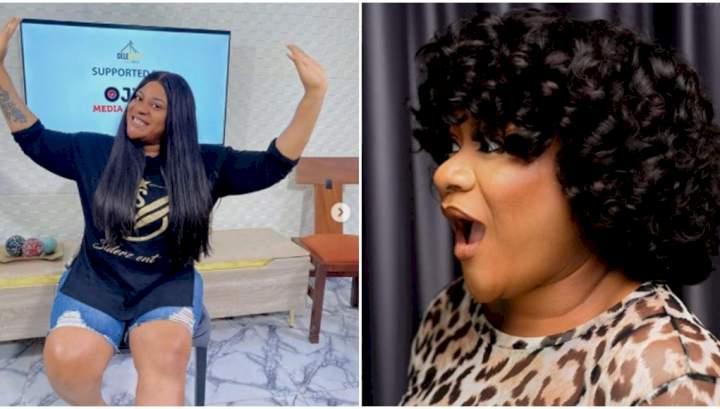 """I no dey Madison na Lagos I dey"" - Nkechi Blessing reacts as yahoo boys use her photo to defraud people"