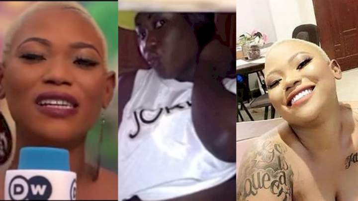 I bleached to get attention and fit into the group men want - Popular sex worker, Queen Farcadi (video)