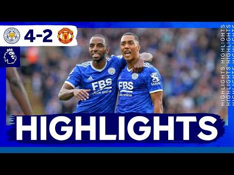 Leicester 4 - 2 Manchester Utd (Oct-16-2021) Premier League Highlights